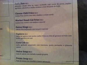 Cardápio - Butcher`s Market