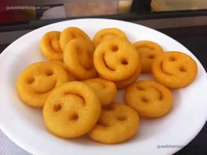 Porção de batatas smiles - Nations Burgers & Salads