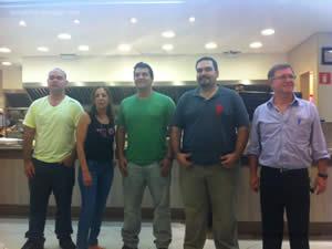 Os 5 finalistas do concurso - Osnir 42 anos