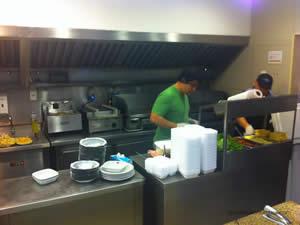 Preparação do hambúrguer do Filipe - Osnir 42 anos