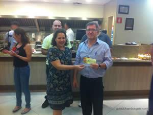 Vencedor do concurso - Osnir 42 anos