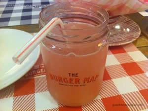 Pink Lemonade - The Burger Map