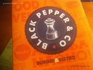 Cardápio - Black Pepper Burger & Bistrô